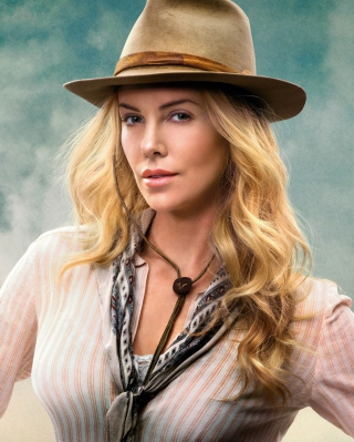 Charlize Theron In A Million Ways To Die In The West - Obrázkek zdarma pro iPhone 5C