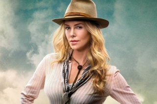 Charlize Theron In A Million Ways To Die In The West - Obrázkek zdarma pro Motorola DROID