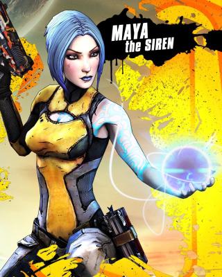 Maya the Siren, Borderlands 2 - Obrázkek zdarma pro iPhone 6 Plus