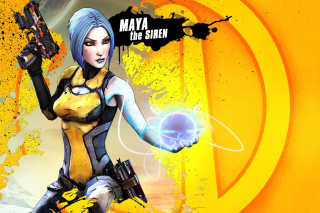 Maya the Siren, Borderlands 2 Wallpaper for Android, iPhone and iPad