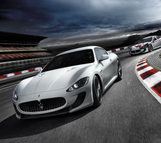 Maserati GranTurismo - Obrázkek zdarma pro iPad