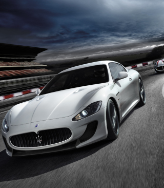 Maserati GranTurismo - Obrázkek zdarma pro iPhone 4