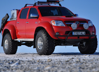 Toyota Hilux from Top Gear Background for Android, iPhone and iPad