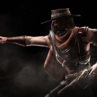 Mortal Kombat 10, Erron Black - Obrázkek zdarma pro iPad mini 2