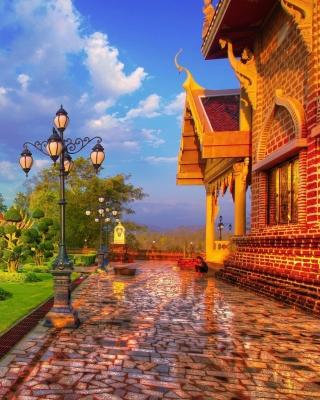 Luxury countryside - Obrázkek zdarma pro Nokia Asha 203