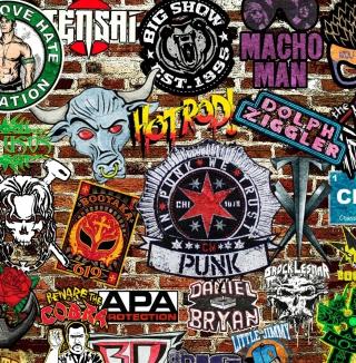 WWE Logos: Hot Rod, Punk - Obrázkek zdarma pro 2048x2048