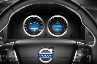 Volvo Speedometer - Obrázkek zdarma pro 220x176