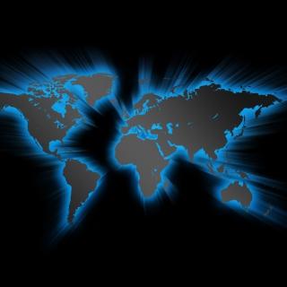 Earth Map - Obrázkek zdarma pro 320x320