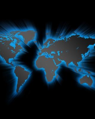 Earth Map - Obrázkek zdarma pro 240x400