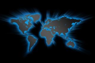 Earth Map - Obrázkek zdarma pro Samsung Galaxy Note 3