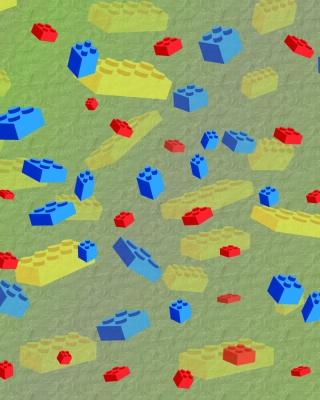 Lego Bricks - Obrázkek zdarma pro Nokia Asha 305