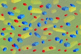 Lego Bricks - Obrázkek zdarma pro 1920x1080