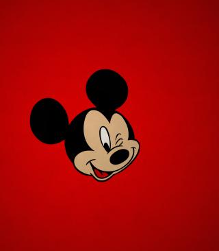 Mickey Winking - Obrázkek zdarma pro Nokia X1-00
