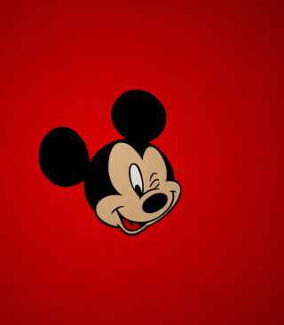 Mickey Winking - Obrázkek zdarma pro Nokia Asha 309