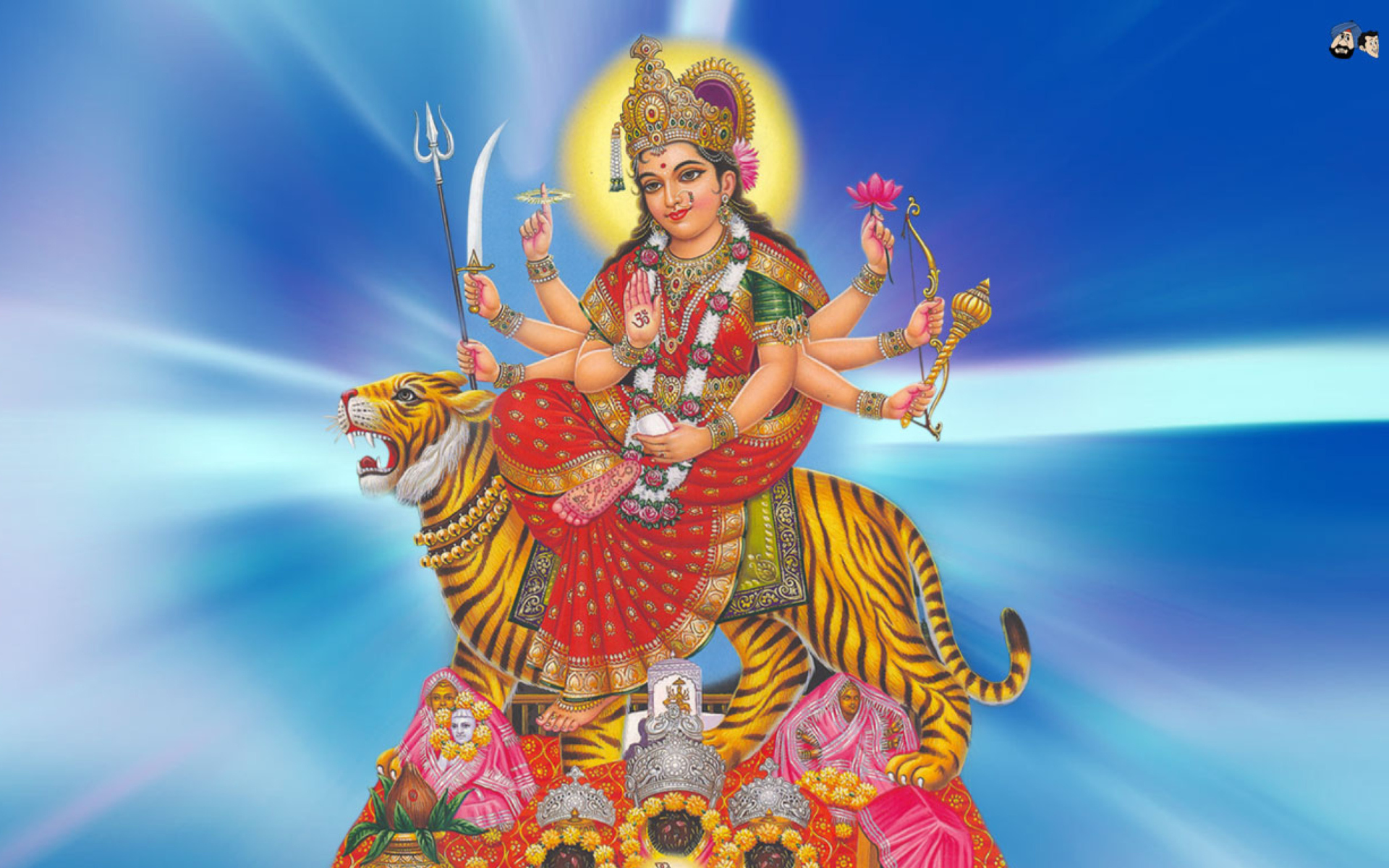 Hindu Goddess image hd for pc