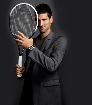Novak Djokovic - Obrázkek zdarma pro Nokia Asha 303