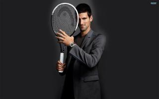 Novak Djokovic - Obrázkek zdarma pro 1366x768