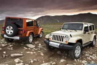 Jeep Wrangler - Obrázkek zdarma pro HTC EVO 4G