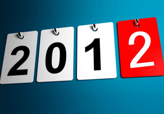 New Year 2012 Wallpaper for Android, iPhone and iPad