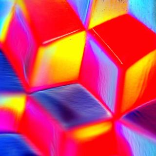 Colorful Cubes 3D - Obrázkek zdarma pro iPad mini 2