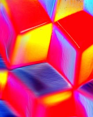 Colorful Cubes 3D - Obrázkek zdarma pro 240x432