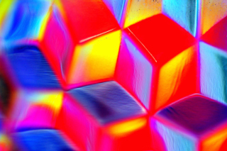 Colorful Cubes 3D - Obrázkek zdarma pro 1600x900