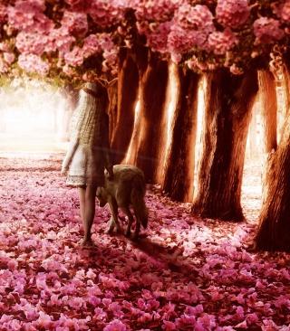 Flower Forest - Obrázkek zdarma pro Nokia Asha 300