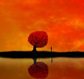 Autumn Tree - Obrázkek zdarma pro iPad mini