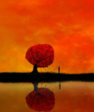 Autumn Tree - Obrázkek zdarma pro Nokia Asha 501