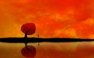 Autumn Tree - Obrázkek zdarma pro 1440x900