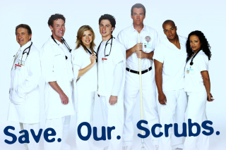 Save Our Scrubs Picture for Android, iPhone and iPad