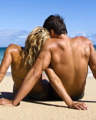 Romantic Beach Time - Obrázkek zdarma pro 132x176