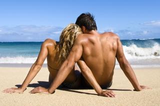 Romantic Beach Time - Obrázkek zdarma pro HTC Desire