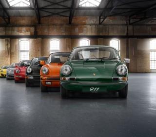 Colorful Porsche 911 - Obrázkek zdarma pro iPad 3