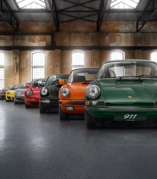 Colorful Porsche 911 - Obrázkek zdarma pro Nokia C1-01