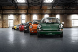 Colorful Porsche 911 - Obrázkek zdarma