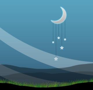 Nightly Peace - Obrázkek zdarma pro 1024x1024