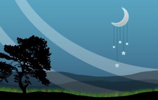 Nightly Peace - Obrázkek zdarma pro Samsung Galaxy S6