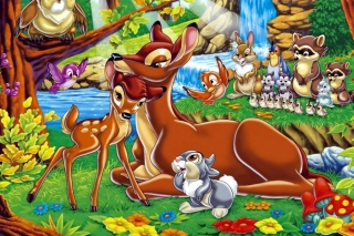 Free Disney Bambi Picture for Desktop 1920x1080 Full HD