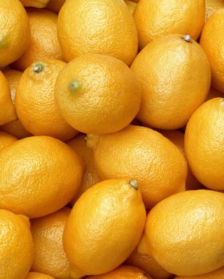 Fresh Yellow Lemons - Obrázkek zdarma pro iPhone 4S