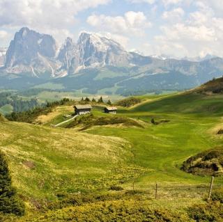 The Alps Mountainscape - Obrázkek zdarma pro 128x128