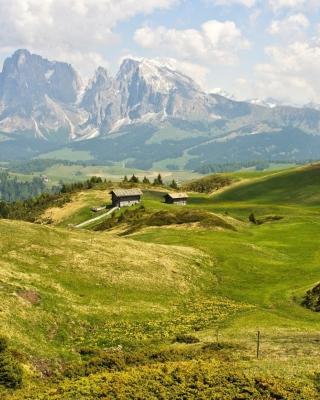 The Alps Mountainscape - Obrázkek zdarma pro Nokia Asha 203