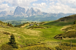The Alps Mountainscape - Obrázkek zdarma pro Desktop Netbook 1024x600