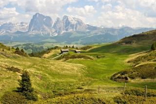 The Alps Mountainscape - Obrázkek zdarma pro 1280x800