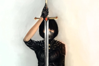 Girl With Sword - Fondos de pantalla gratis Stub device