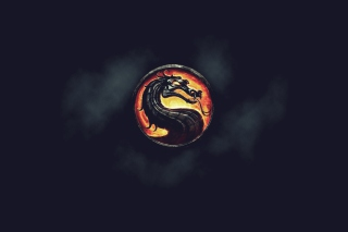 Mortal Kombat Logo Background for Android, iPhone and iPad
