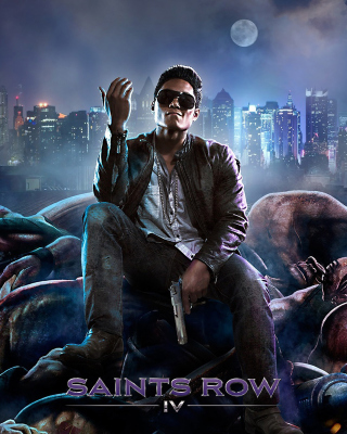 Saints Row 4 sfondi gratuiti per Nokia Asha 306
