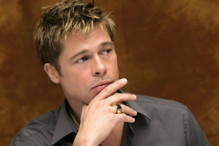 Brad Pitt Background for Android, iPhone and iPad
