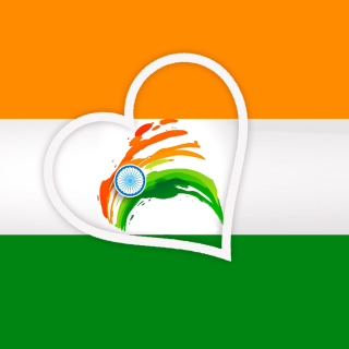 Happy Independence Day of India Flag - Obrázkek zdarma pro 128x128