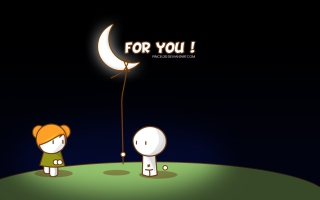 Moon For You Picture for Android, iPhone and iPad